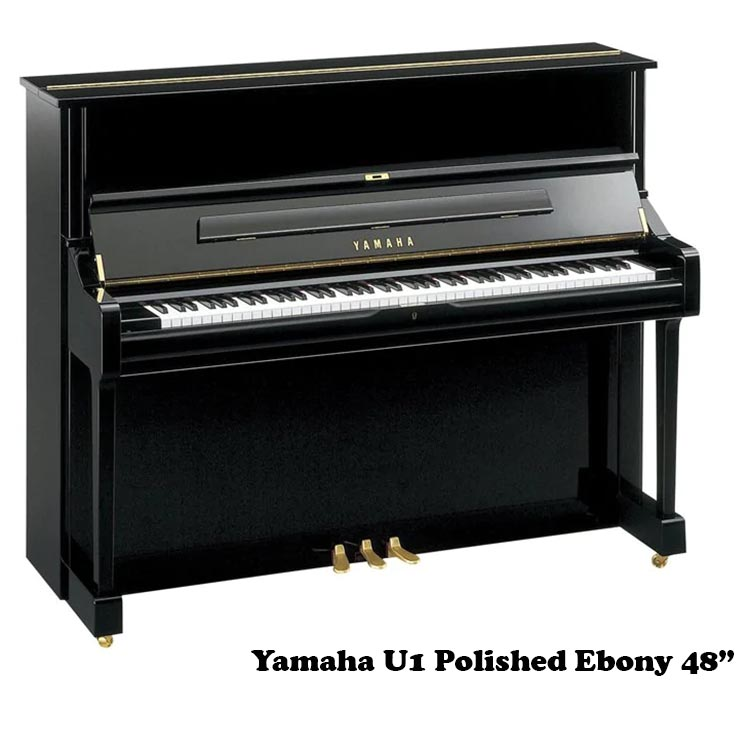 """Yamaha U1 pe 48"""" upright piano"""