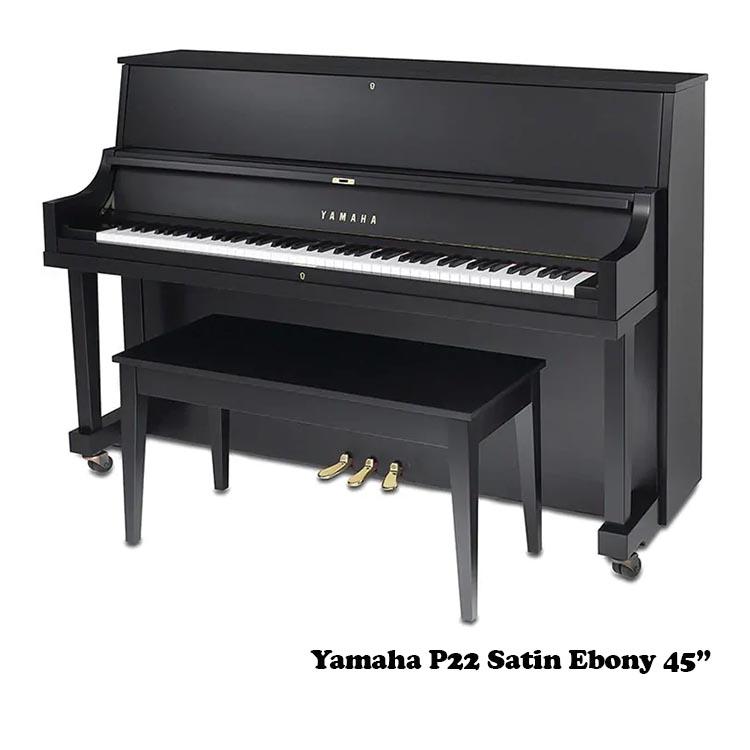 Yamaha P22 satin ebony