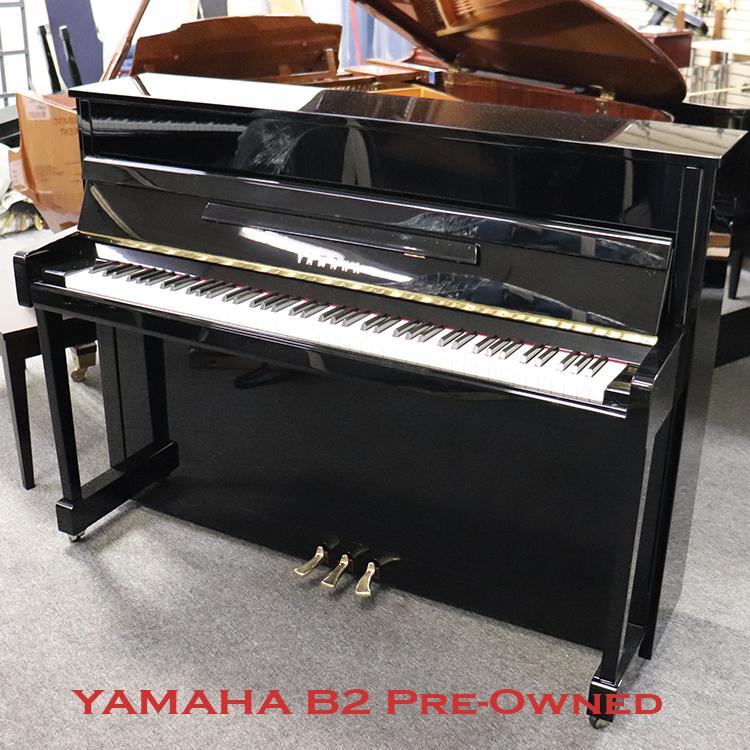 Used Yamaha B2 in polished ebony for sale in freehold nj
