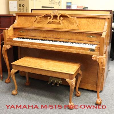 Yamaha M515 used upright piano