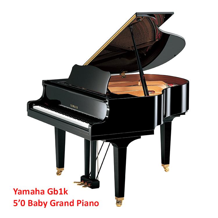 yamaha gb1k 5 foot baby grand piano for sale