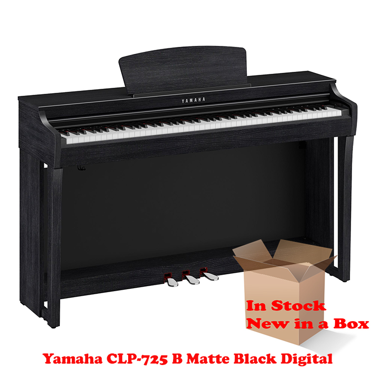 Yamaha CLP-725 Rosewood digital piano in stock in a box