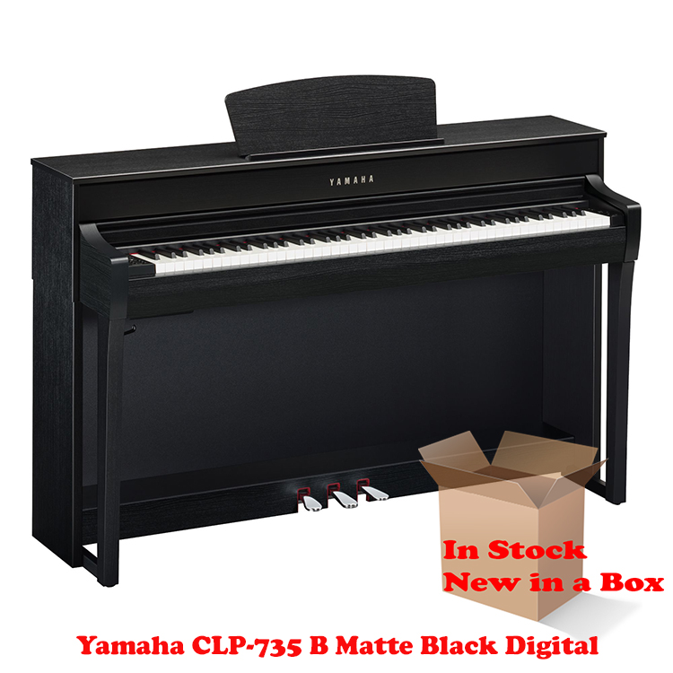 Yamaha CLP-735B Matte Black Piano For Sale in NJ NEW
