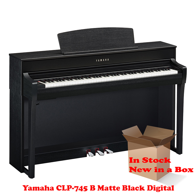 Yamaha CLP-745 B Matte Black Piano For Sale in NJ NEW