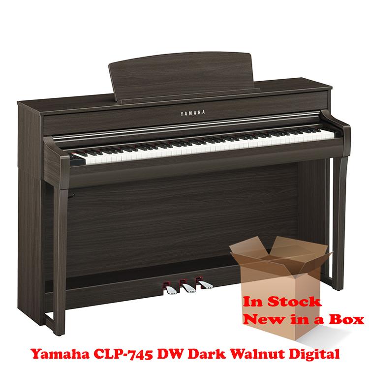 Yamaha CLP-745DW Dark Walnut Piano For Sale in NJ NEW