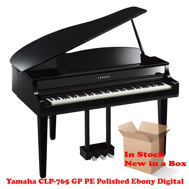 Yamaha CLP-765 GP PE Polished Ebony Piano for Sale