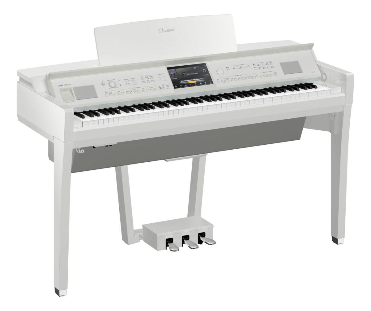 Yamaha CVP-809 PWH Polished White