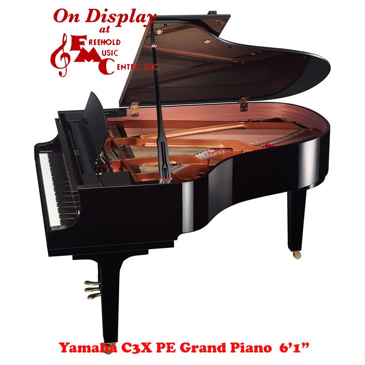 yamaha c3x grand piano new