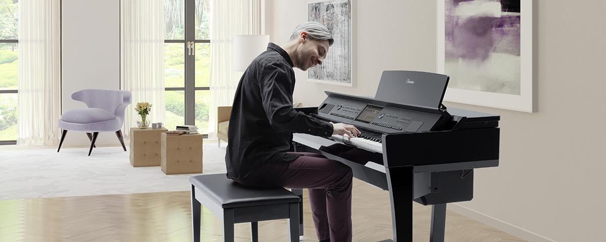 Yamaha CVP-809 Digital Piano Image