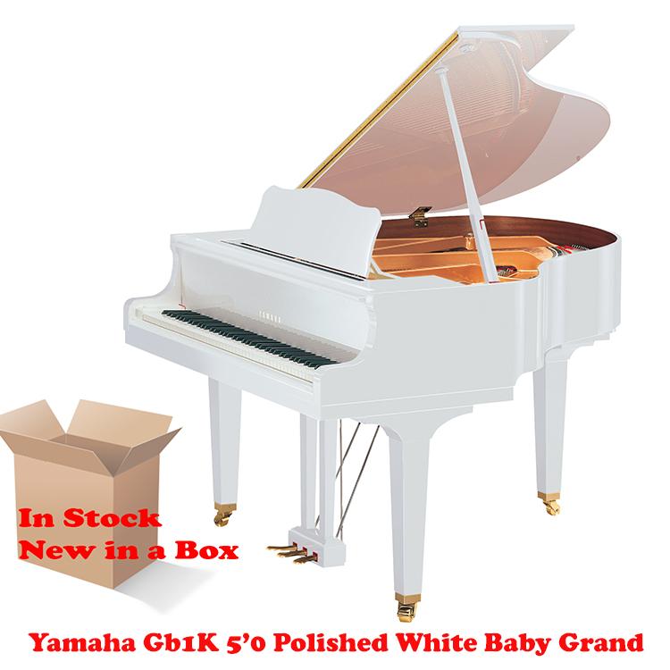 yamaha gb1k wh polished white
