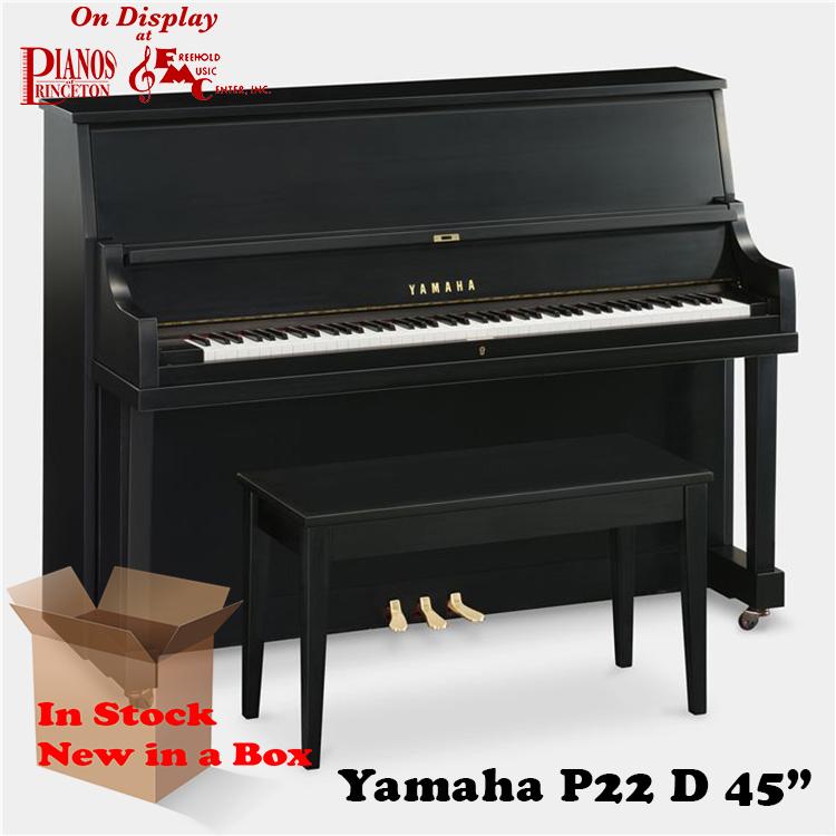 Yamaha P22d in satin ebony