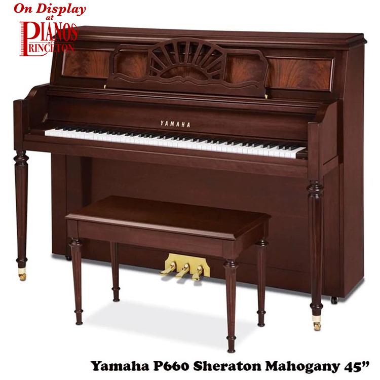 yamaha p660 sheraton mahogany
